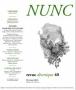 2016 - Revue NUNC - Hadewijch d'Anvers (collectif)